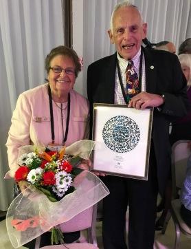 Janet and Irwin Tobin Honored