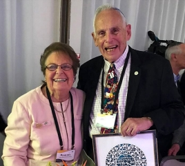 Janet and Irwin Tobin Honored